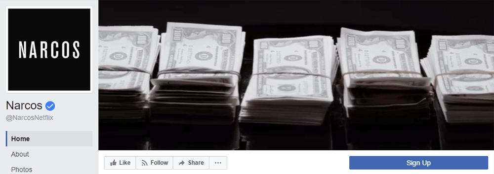 Facebook Cover Video Inspiration Narcos