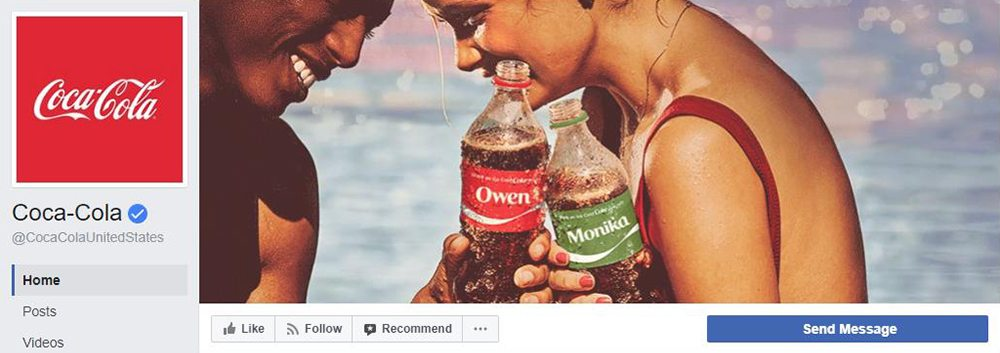 Facebook Cover Video Inspiration Coca-Cola