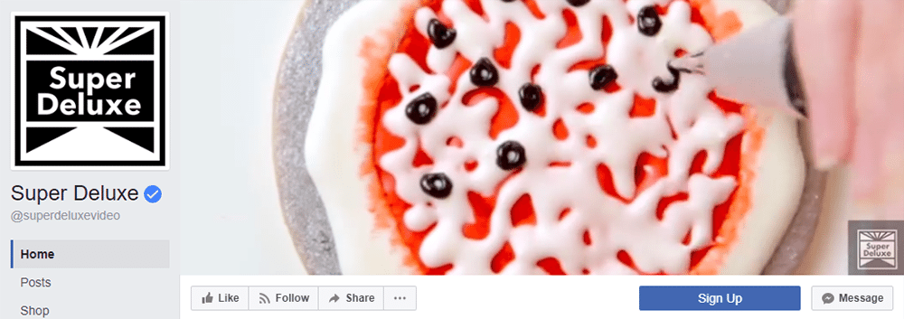 Facebook Cover Video Inspiration Super Deluxe