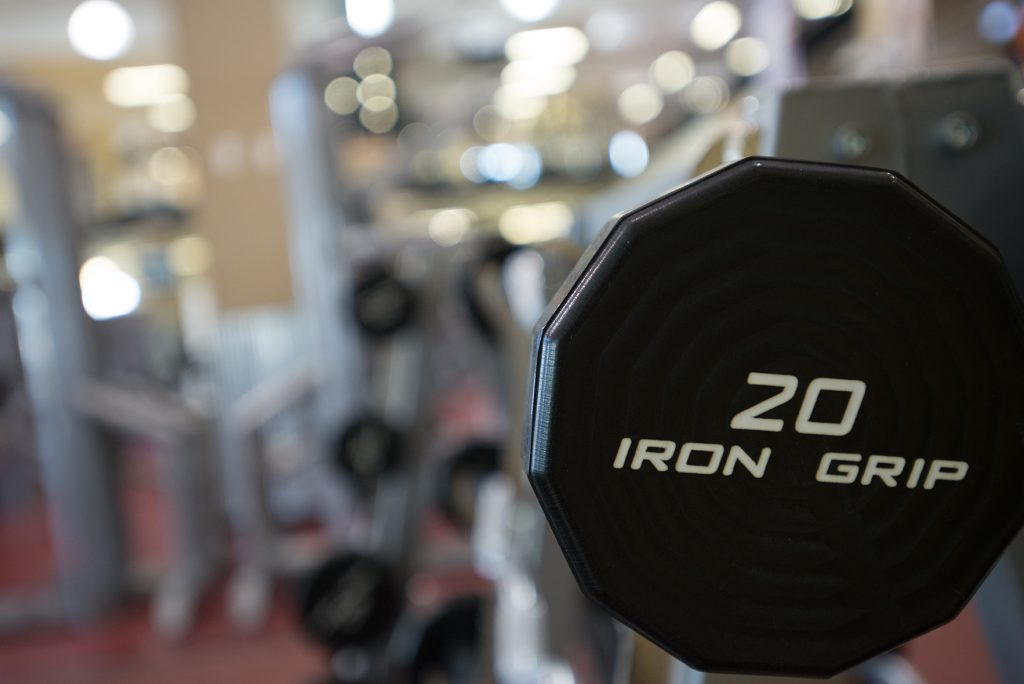 Performance Fitness Weight Room Background Image